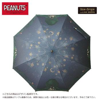 PEANUTSキャンバスパラソル スヌーピー/ナイトドリーム